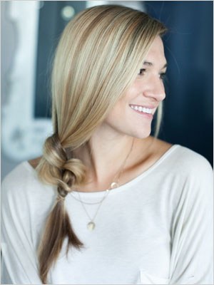 Knotted side braid | Sheknows.com