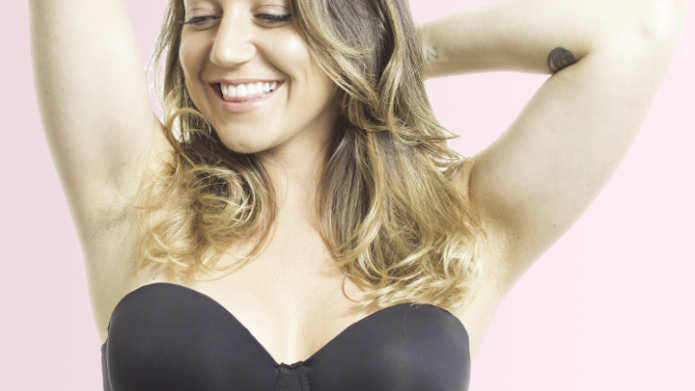 Finally, a strapless bra that won't