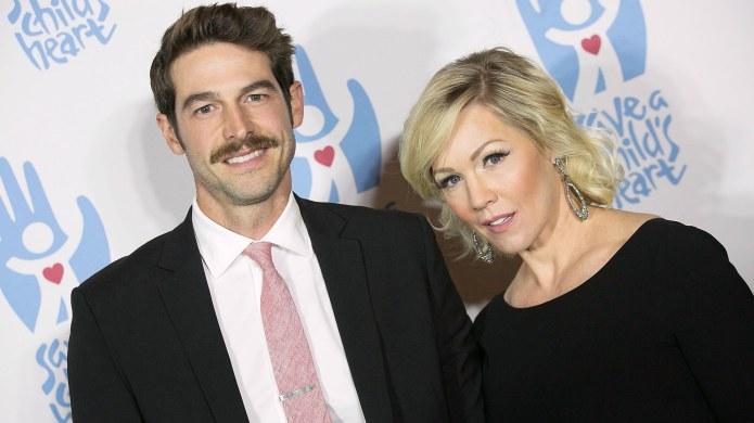 Jennie Garth & Husband David Abrams