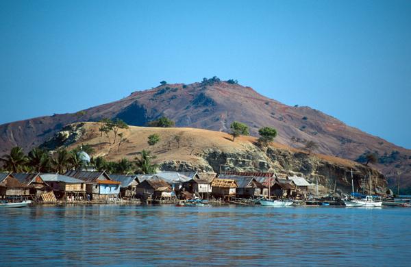 Remote Indonesia -- Komodo Island