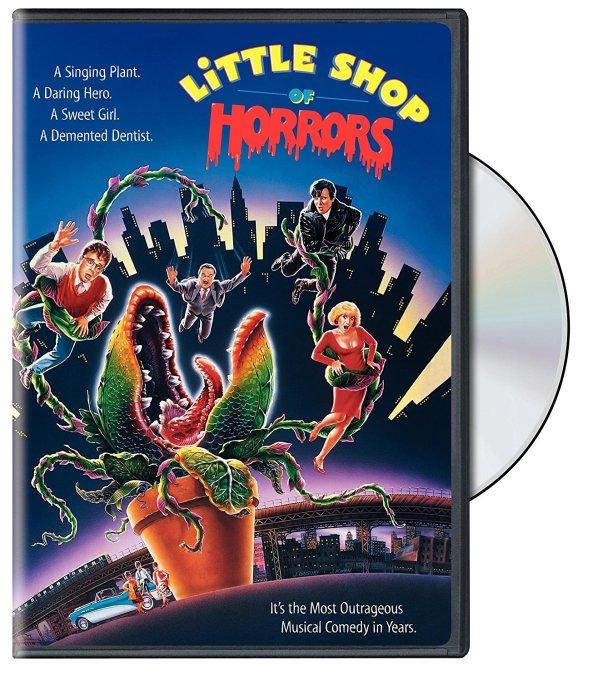 'Little Shop Of Horrors' DVD art