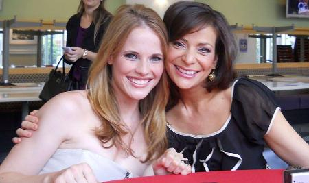 Constance Marie and Katie Leclerc dish