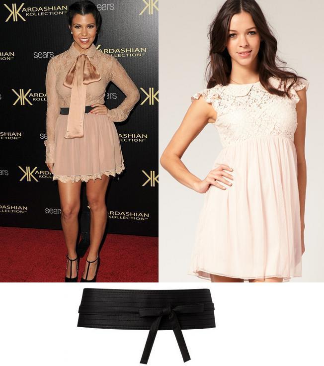 Celebrity look: Kourtney Kardashian