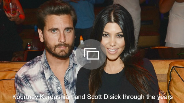kourtney and scott through the years