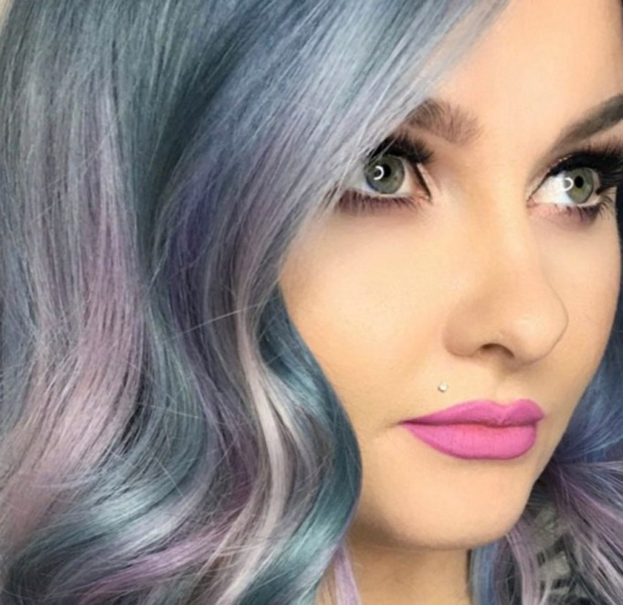 Moonstone hair color