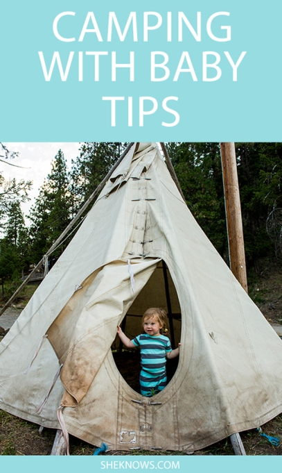 Pin it! 20 Essentials for Camping With Baby