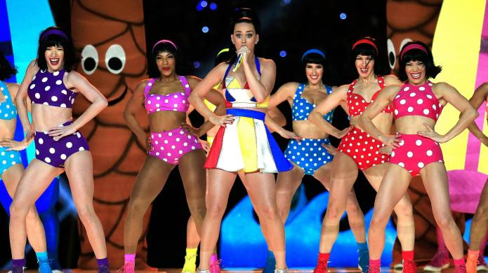 How Katy Perry's Super Bowl halftime