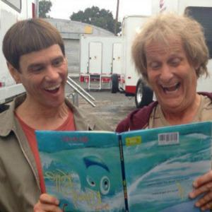 Jeff Daniels and Jim Carrey share