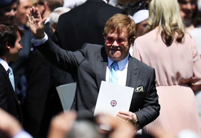 Elton John royal wedding