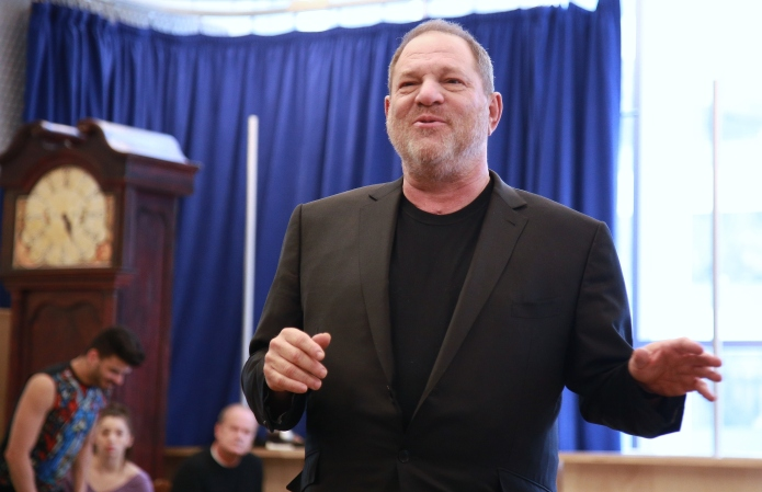 Harvey Weinstein was slapped with a
