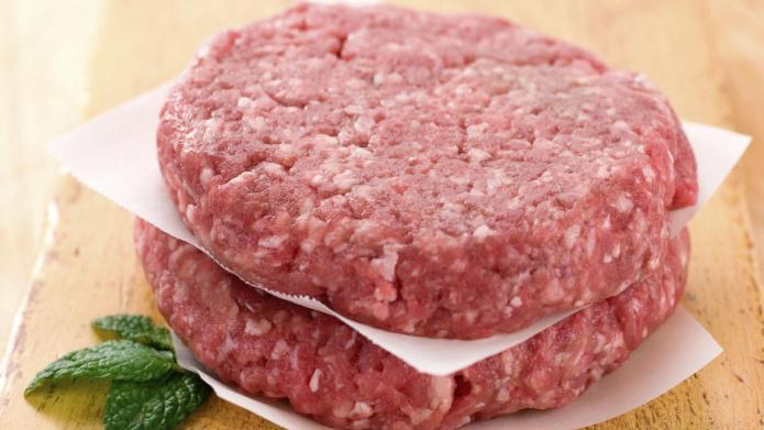 What a human flesh burger tastes