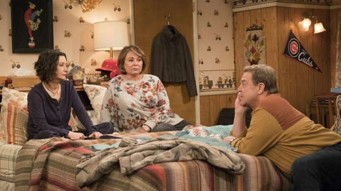 Still of 'Roseanne' reboot with Sara