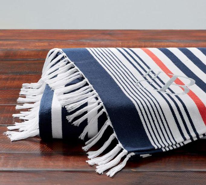 Mariner Stripe Throw