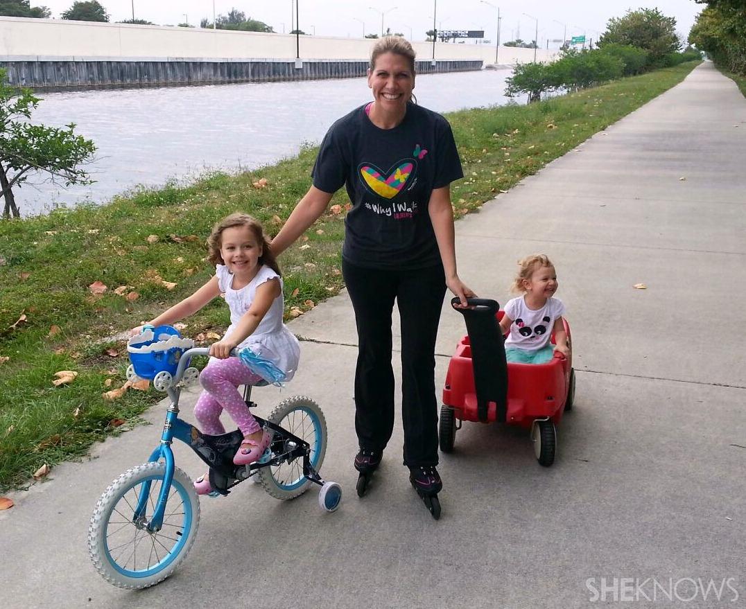 Kristen rollerblading mile | Sheknows.com