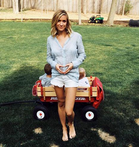 Kristin Cavallari pregnant baby 3