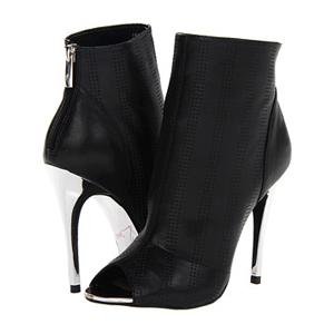 Kristin Cavallari black booties