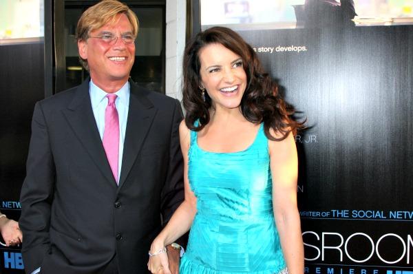 Kristin Davis, Aaron Sorkin