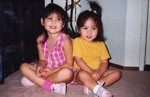 Melissa and Kristine