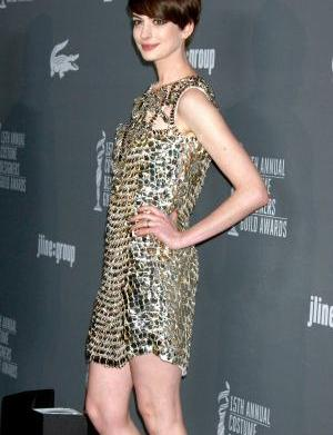 Anne Hathaway goes sci-fi for her