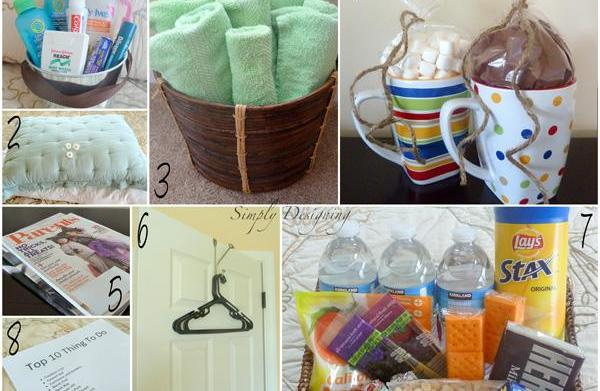 Make your guest room feel like