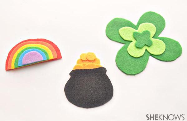 DIY simple felt St. Patrick's Day