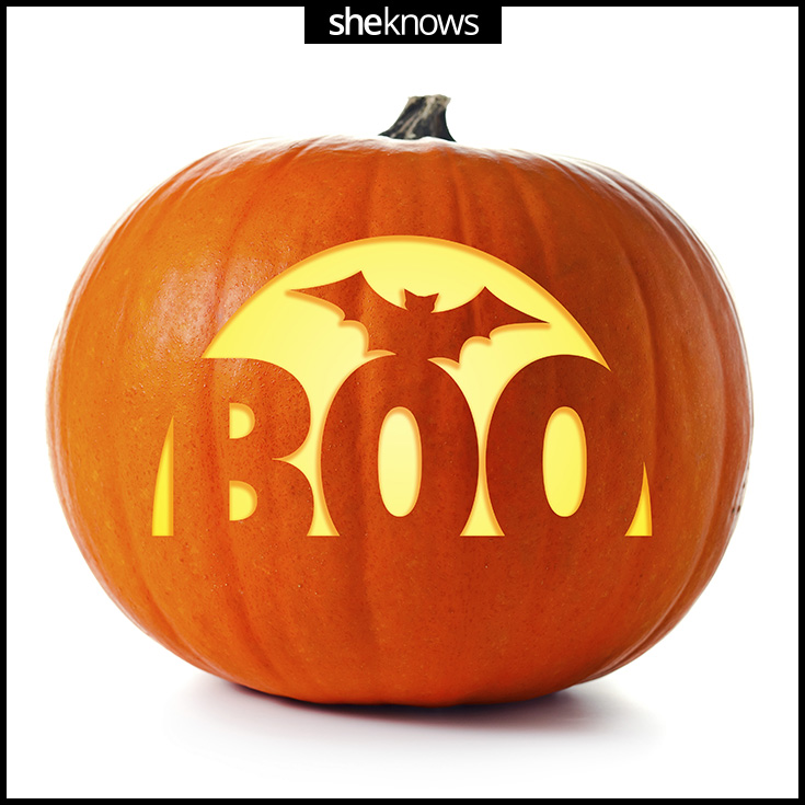 pumpkin template boo  These Pumpkin-Carving Templates Pretty Much Guarantee a ...