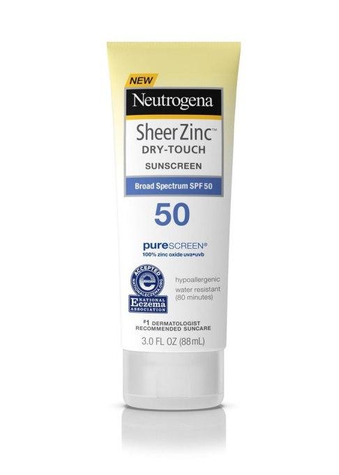 Neutrogena Sheer Zinc Sunscreen