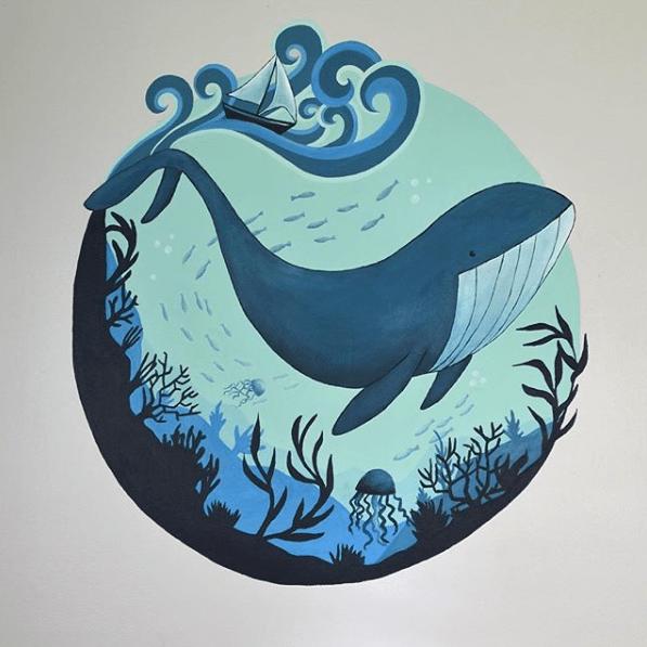 A Whale of a Mural