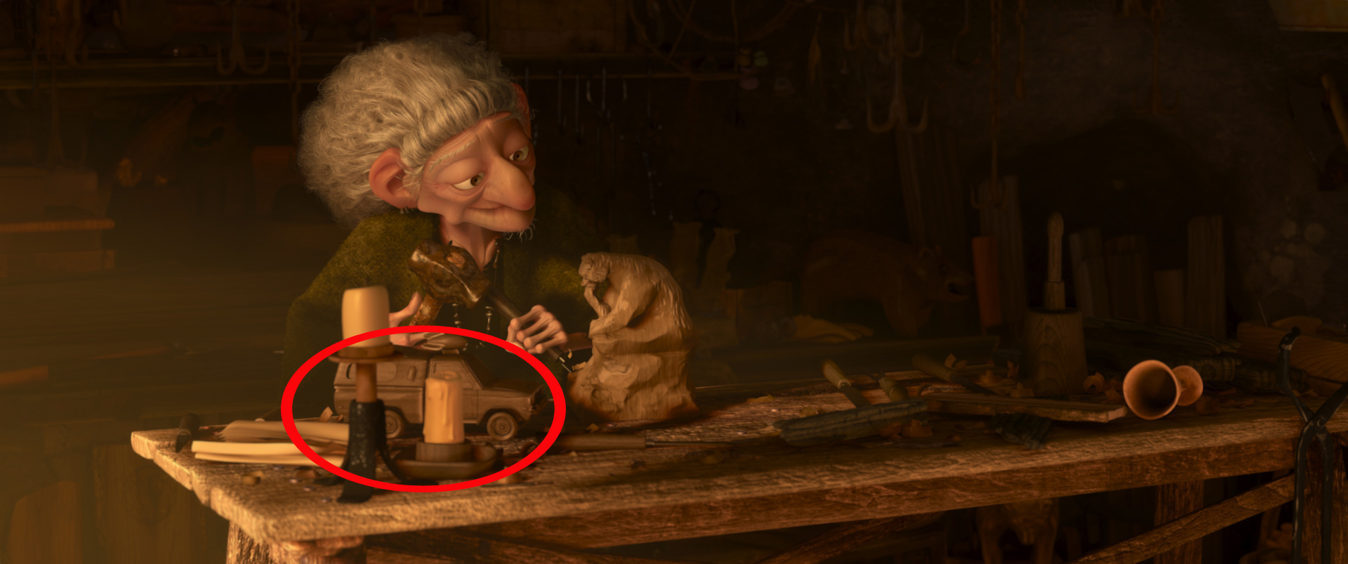 The Easter Eggs In Brave Up Moana And Other Disney