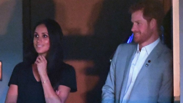 Prince Harry & Meghan Markle Close