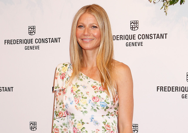 Gwyneth Paltrow attends the launch of 'Gwyneth Paltrow x Frederique Constant' Ladies Automatic collection