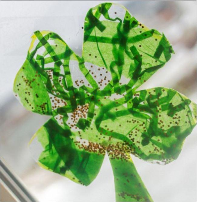Shamrock-crafts-for-kids