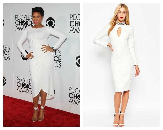 Jennifer Hudson white dress