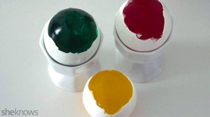 How to make jelly eggs