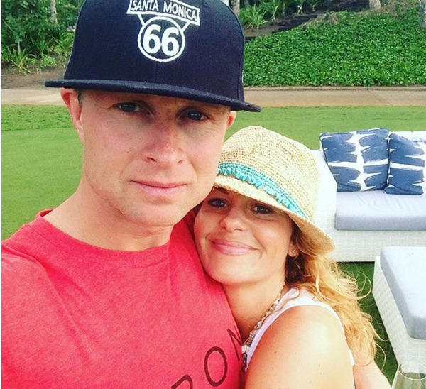 Candace Cameron Bure and her husband