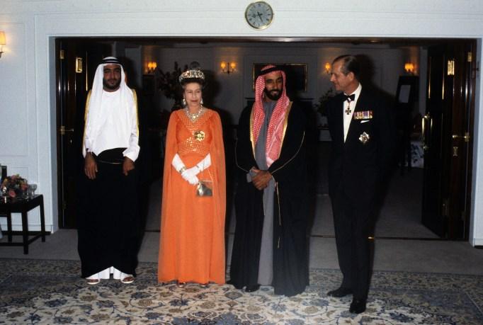 Queen Elizabeth II & Prince Philip in 1979