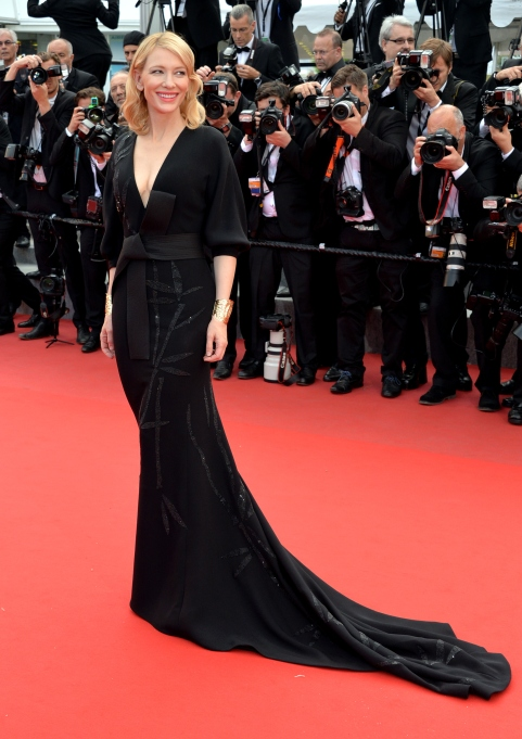 Cate Blanchett at the 2015 Cannes Film Festival