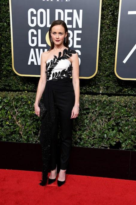 Best Golden Globes fashion 2018: Alexis Bledel