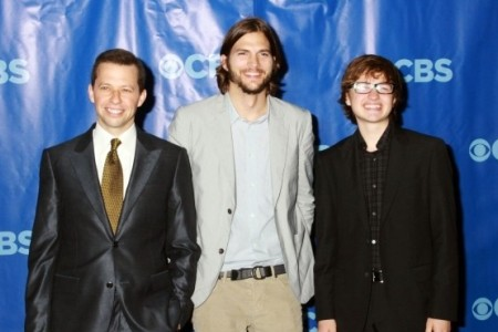 Ashton Kutcher and Two and a Half Men signed a $20 million one-year deal