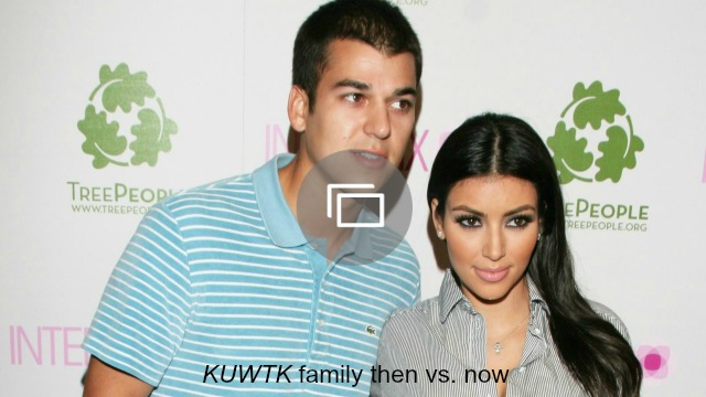 keeping up with the kardashians then and now slideshow
