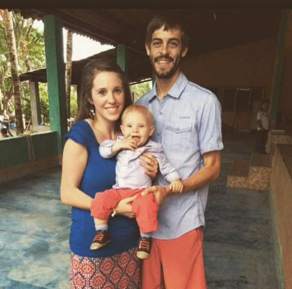 Jill Duggar and husband Derick Dillard with son Israel