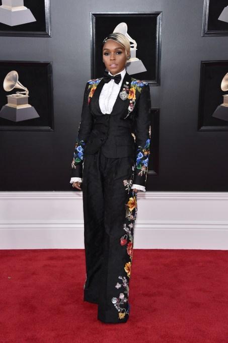 Grammys 2018 Best Dressed: Janelle Monae