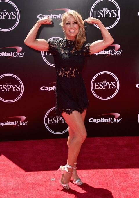 Denise Austin at Espy Awards