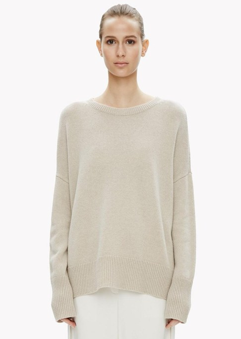 Summer Sweaters: Theory Cashmere Slouchy Sweater   Summer fashion 2017