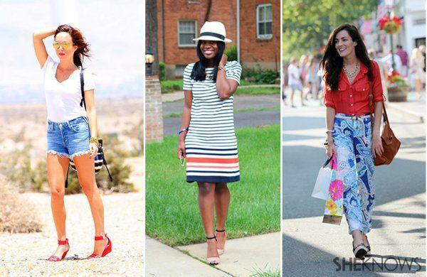 3 Stylish looks for Fourth of