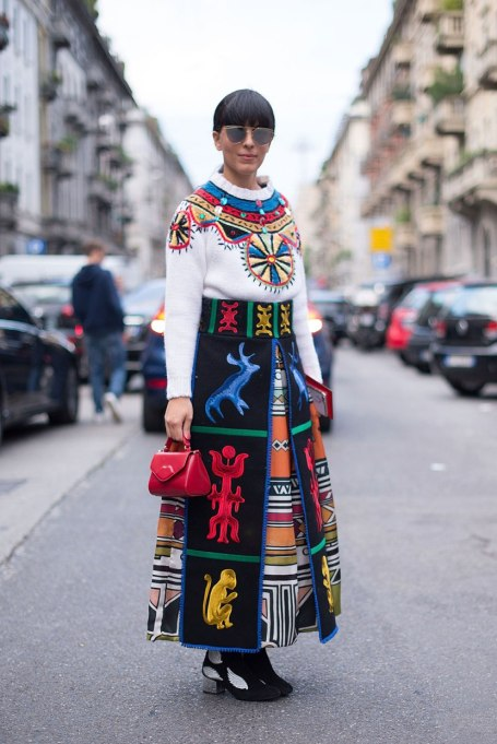 Ways To Wear Graphic Prints: Print queen   Fall Fashion