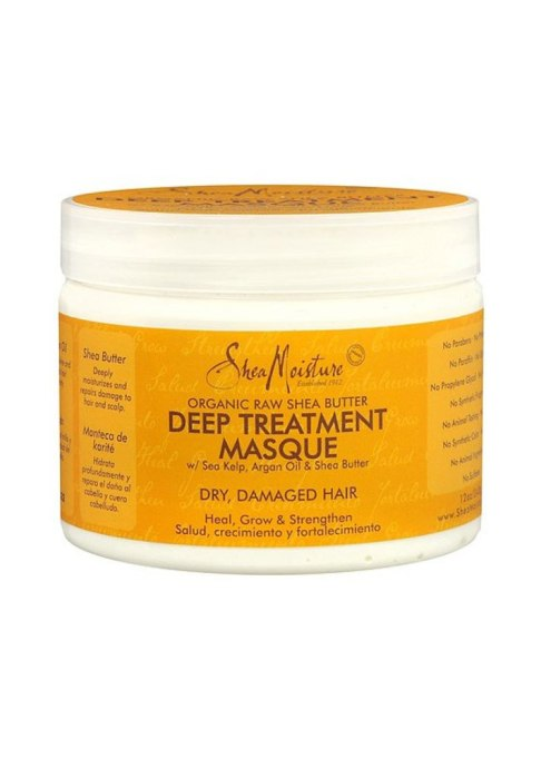 Best Under $20 Hair Masks | SheaMoisture Raw Shea Butter Treatment Masque