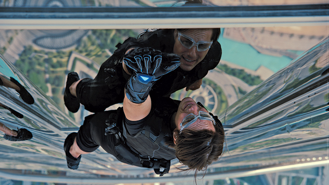 Tom Cruise broke his ankle while performing a stunt in Mission: Impossible 6