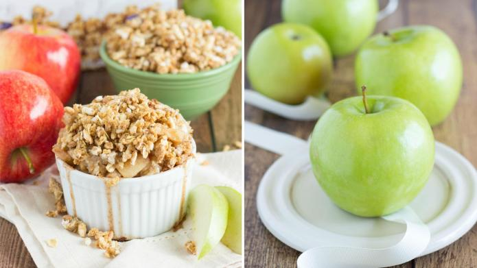 Better-for-you mini apple pies