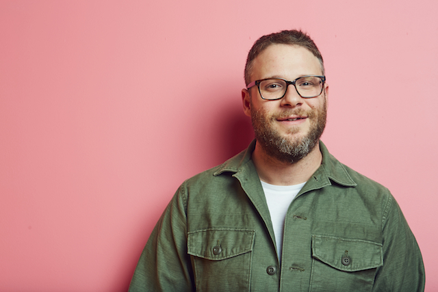 Celebs who love weed: Seth Rogen